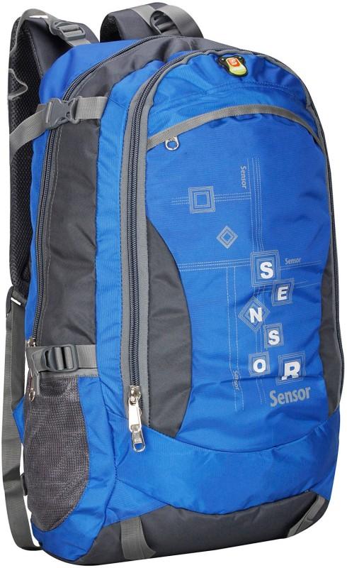Sensor Drizzle Trekker Rucksack  - 50 L(Blue, Grey)