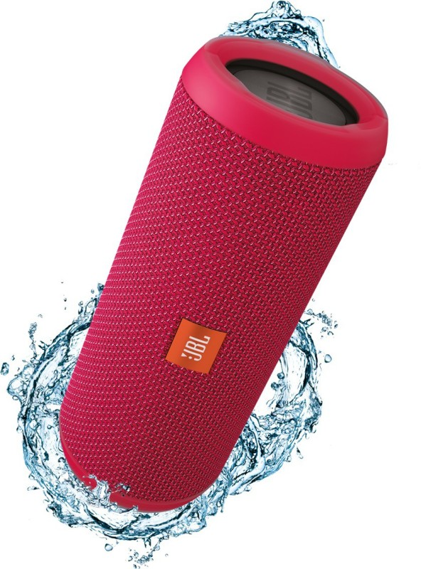 JBL FLIP 3 PINK Portable Bluetooth Mobile/Tablet Speaker(Pink, 2.0 Channel)