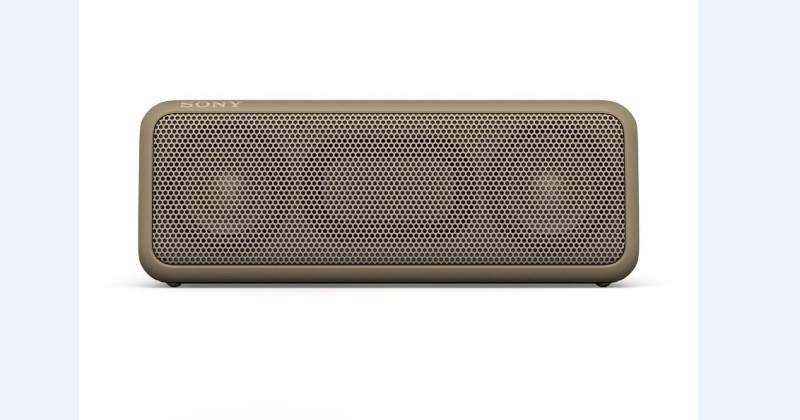 Sony SRS-XB3 Portable Bluetooth Speakers(Khaki, 2 Channel)